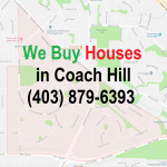 We Buy Houses Coach Hill Calgary