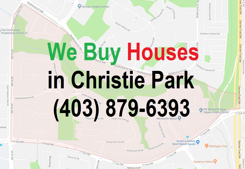 We Buy Houses Christie Park Calgary